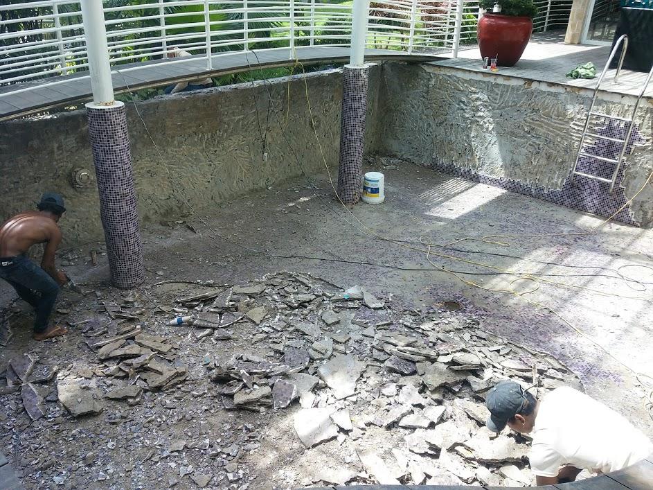 Cải tạo sửa chửa công trình hồ bơi