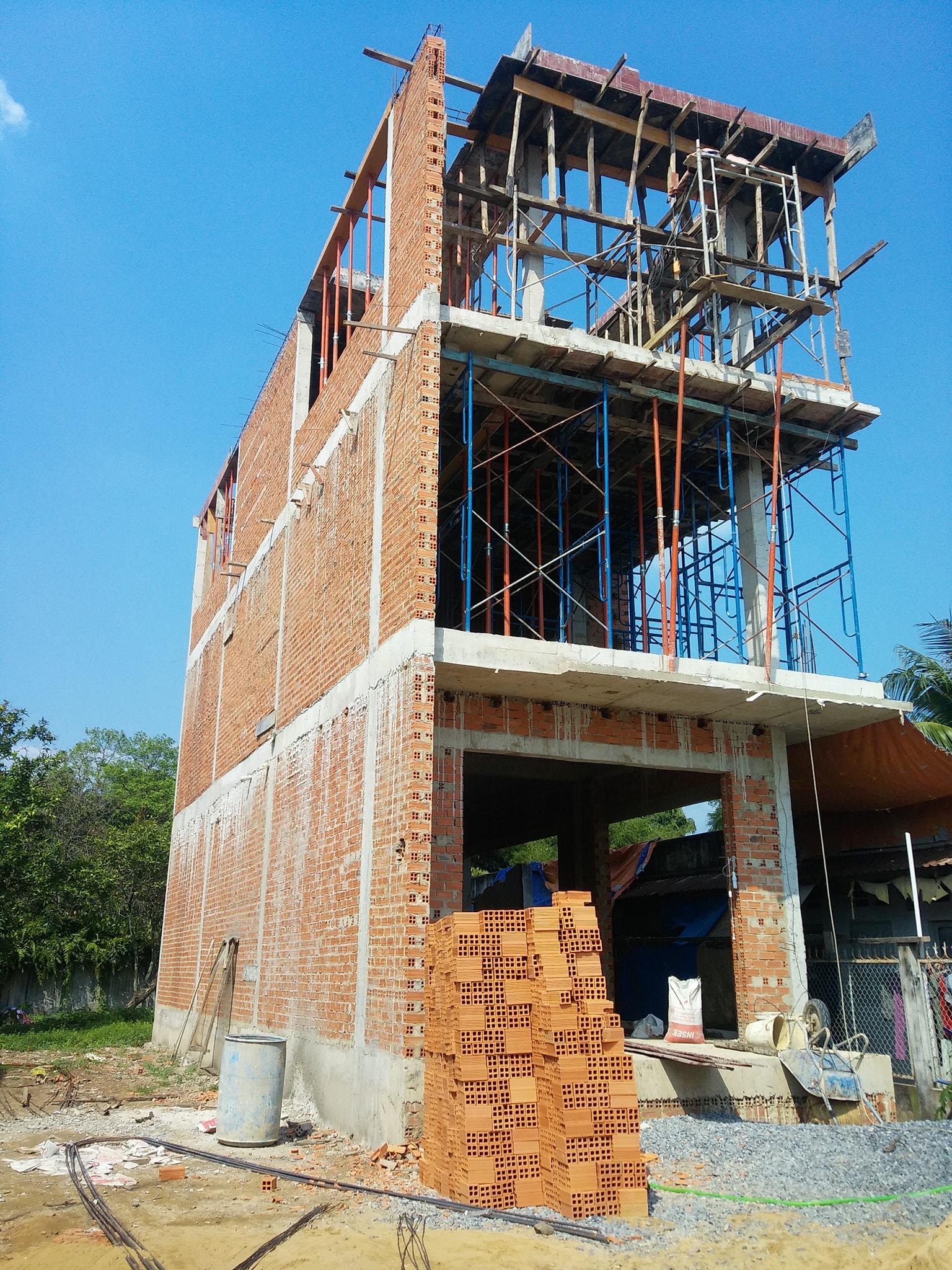 Thi công xây dựng nhà trọn gói
